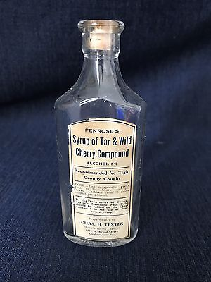 Vintage Syrup Of Tar & Wild Cherry Compound