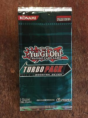 Yu-Gi-Oh! yugioh Turbo Pack 7 Booster Rare Tournament Prize