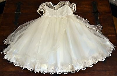 Sarah Louise Ivory Baby Christening Occassion Dress  18 Months RRP £75