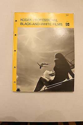 Kodak Professional Black-And-White Films, 1976, 2nd Edition