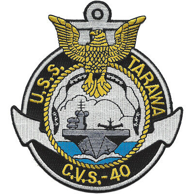 CVS-40 USS Tarawa Patch