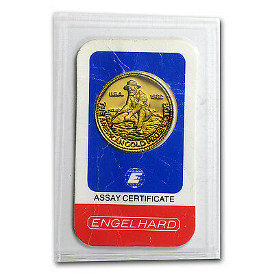 1/4 oz Gold Round - Engelhard (Prospector, In Assay) - SKu #62547