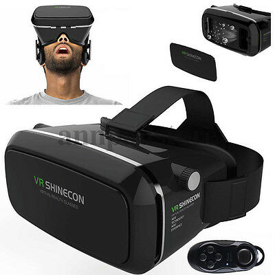 SHINECON 3D Glasses Virtual 2.0 VR Box Goggles Reality Headset 2017 NEW