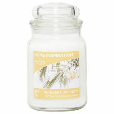 Yankee Candle Home Inspiration Sunlight On Snow Large Candle
