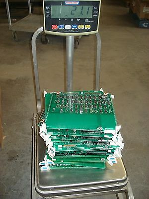 Lot Of 20 Circuit Boards For Gold Recovery (21 Lbs)
