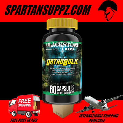 Blackstone Labs ORTHOBOLIC Joint Support Formula MSM Cissus Recovery Collagen