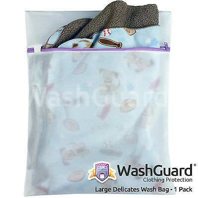 1 Large Lingerie Bag for Laundry for Delicate Clothes & Underwear - by WashGuard