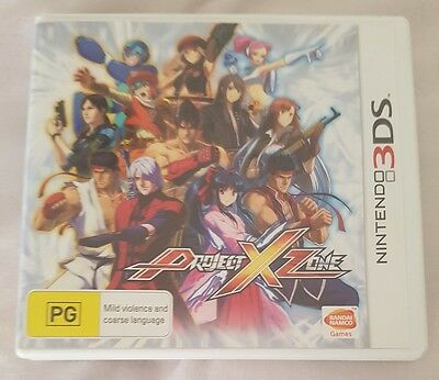 Project X Zone Nintendo 3DS 2DS