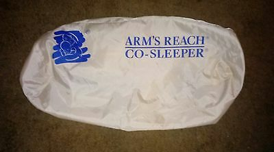 Arm's Reach Co-Sleeper REPLACEMENT CARRYING BAG - Cream / EUC