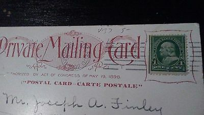 RARE green line Franklin 1 cent stamp free shipping
