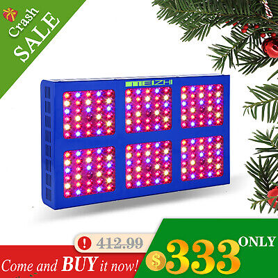 MEIZHI 900W LED Grow Light Full Spectrum LED Lamps Indoor Hydroponics Veg Bloom