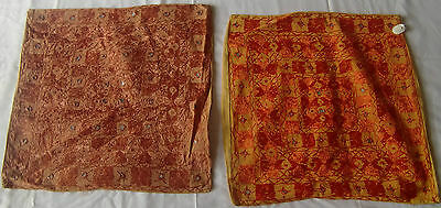 Beautiful Handmade Old Vintage Patch Work Cushions/pillow Cover India Fine Art15