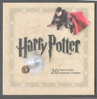 Great Britain-Harry Potter Forever booklet  mnh-self-adhesives-valid USA postage