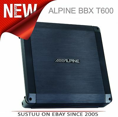 Alpine BBX T600 Power Class A/B Amp 2 Channel Car Sound Audio Amplifier System