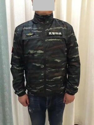 13's China Armed Police Force Tiger Digital Camouflage Technical Jacket,Uniform