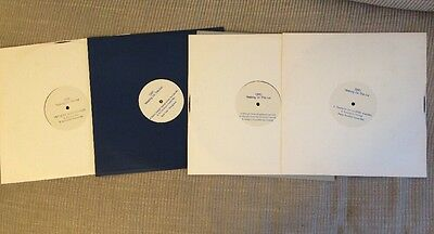 YOKO ONO Walking On Thin Ice white label promo vinyls X 4 Vinyls