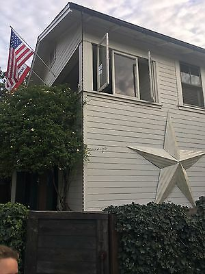 Giant Tin Barn Stars 8 feet from tip to tip!-Made from reclaimed material