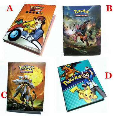 Pokemon Cards Album Book List Card Collectors 120 Cards Capacity Holder 15 Pages