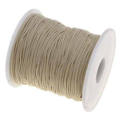 Lot 5 ou 10m Fil Nylon Beige 1mm Pour bracelet, Attache tetine, Bijoux.. 1 mm