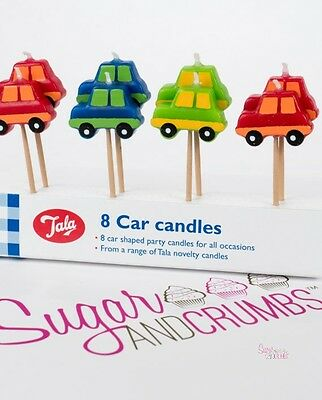 Tala Candles Car Pack of 8
