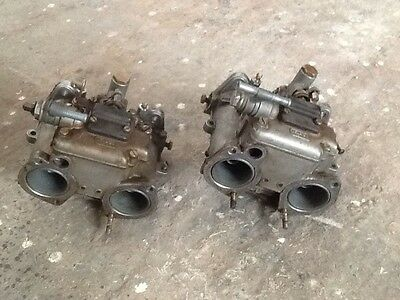 Dellorto Dhla 40H Pair  Carburetors