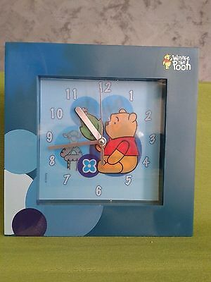 Winnie the Pooh Orologio Gadget Blu Disney Originale Collezione Idea Regalo