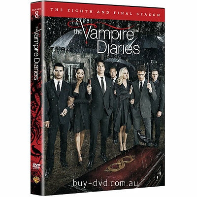 The Vampire Diaries Season 8 New & Sealed DVD Boxset