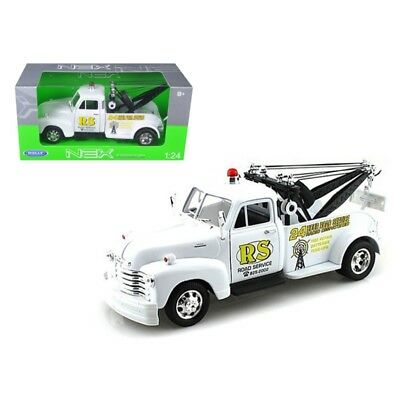 "ANAA-22086WMJBKWD-1953 Chevrolet 3800 Tow Truck Black ""Road Service"" 1/24 by We"