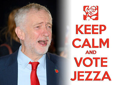 Keep Calm Vote Jeremy Corbyn, Labour, Election, Wall Art, Poster, All Sizes (15)