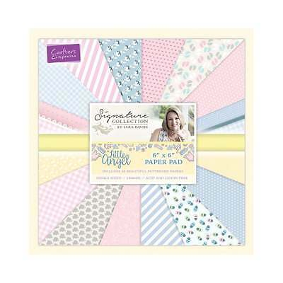 "Crafters Companion SARA SIGNATURE Collection LITTLE ANGEL 6"" X 6"" Paper Pad"