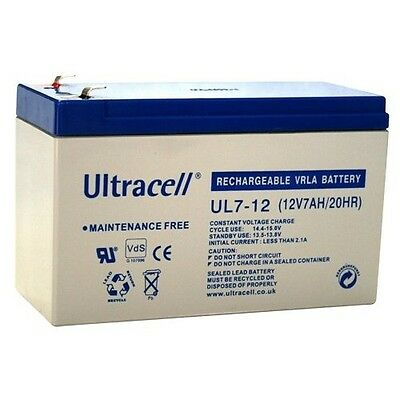 Ultracell Rechargeable Lead Battery 12 V 7,0 Ah