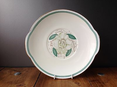 Lovely Vintage Susie Cooper Gardenia Pattern Floral Cake Plate Fine Bone China