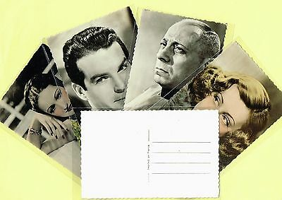1940s Film Star Postcards issued by Viny, France