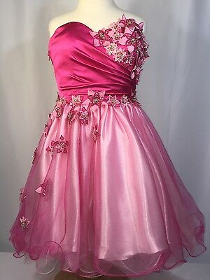 Nwot New Women's 6 Cocktail Short Pageant Gown Dress Prom Evening Formal