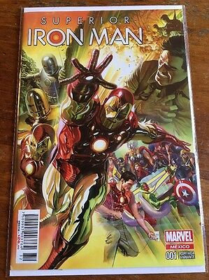 Superior Iron Man #1 Alex Ross 75th Anniversary Color Variant 1st Mexico Variant