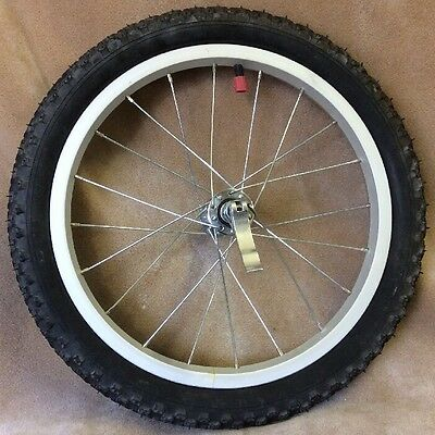Baby Trend Stroller Jogger Aluminum Replacement Front Wheel Tire Quick Release