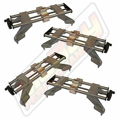 """Alignment Wheel Clamps Fits Up to 24"""" Rims Hunter DSP John Bean Hoffman 4 Pc Set"""