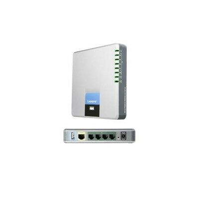 Unlocked Linksys SPA400 Internet Telephony Gateway with 4 FX0 Ports