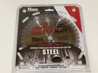 MK Morse  Metal Devil NXT 7-1/4 in. 40T Steel Cutting Blade