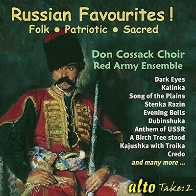 Russian Favourites! - Don Choir / Red Army Ensemble Cossack (2017, CD NEW)