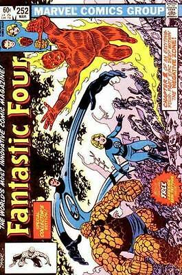 Fantastic Four (1961) # 252 WITH TATTOOZ