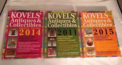 3 Kovels' Books Antiques Collectibles Price Guide America's Bestselling Antiques