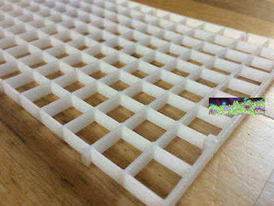 Tropical Marine Aquarium Frag Egg Crate DIY Coral Frag Rack Aquarium Fish Divide