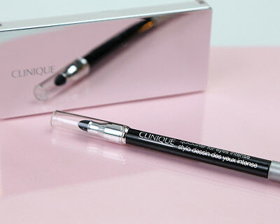 CLINIQUE Quickliner for Eyes Intense 09 Ebony 14G + Free POST
