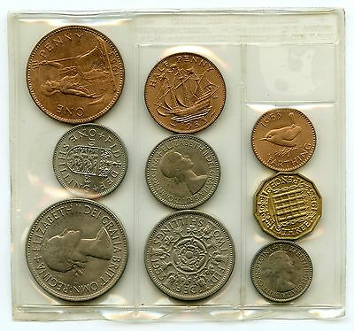 Great Britain 1953 Mint Set - Uncirculated Coin Collection - AK979