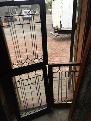 Sg 1403 3Available Priced Each Leaded Glass Window 20.25 X 29.25