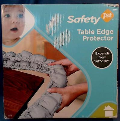 "NIB Safety 1st First Table Edge Protector Toddler Bumper Pad Expands 141"" - 192"""