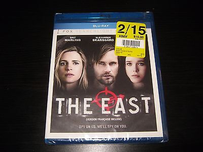 The East (Blu-ray Disc, 2013, Canadian) Brand New Sealed