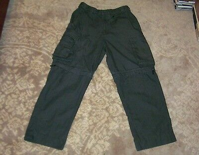 Mens Boy Scout BSA Canvas Switchback Uniform Convertible Pants Shorts 30 Relaxed