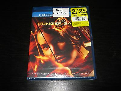 The Hunger Games (Blu-ray Disc, 2012, Canadian) Brand New Sealed